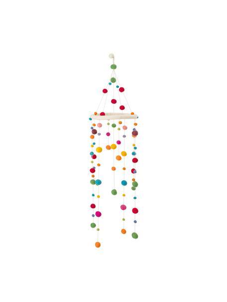 Mobil Dots, Stelaż: drewno naturalne, Wielobarwny, Ø 24 x W 95 cm