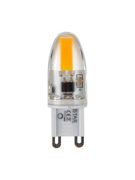 Bombillas G9, 1.6W, blanco cálido, 5uds., Ampolla: vidrio, Casquillo: aluminio, Transparente, An 2 x Al 5 cm