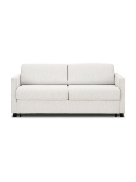 Sofa z funkcją spania z materacem Morgan (2-osobowa), Tapicerka: 100% poliester Dzięki tka, Nogi: lite drewno sosnowe, laki, Beżowy, S 187 x G 92 cm
