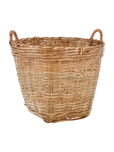 Kosz do przechowywania Willa, Drewno bambusowe, Brązowy, Ø 45 x W 45 cm