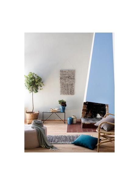 Cesto da interno/esterno Willa, Legno di bambù, Marrone, Ø 45 x Alt. 45 cm
