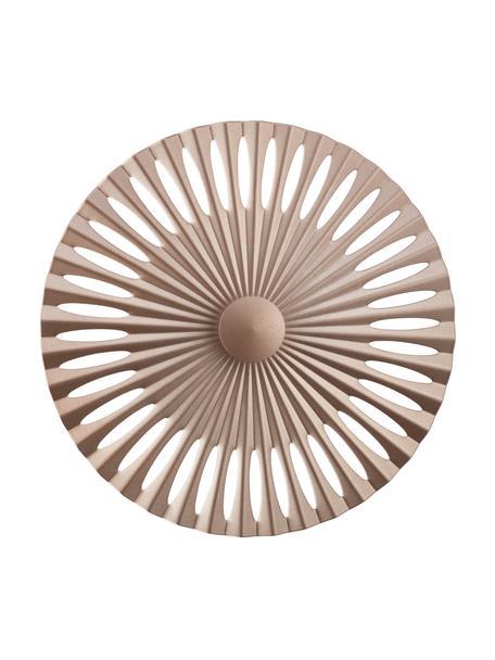 Design LED-Wandleuchte Phinx, Hellbraun, Ø 32 x T 5 cm