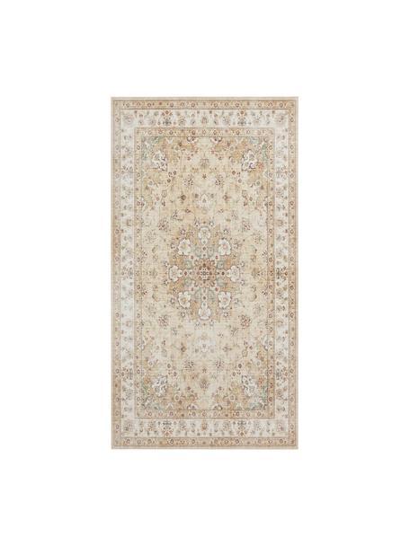 Teppich Nain im Orient Style, 100% Polyester, Gelb, Beigetöne, B 80 x L 150 cm (Größe XS)