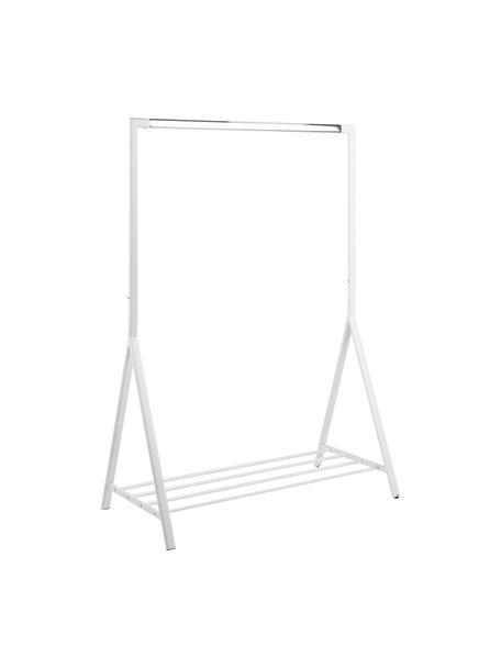 Wieszak stojący Brent, Metal malowany proszkowo, Biały, S 117 x G 59 cm