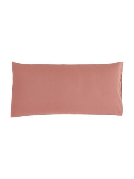 Poszewka na poduszkę z flaneli Biba, 2 szt., Brudny różowy, S 40 x D 80 cm