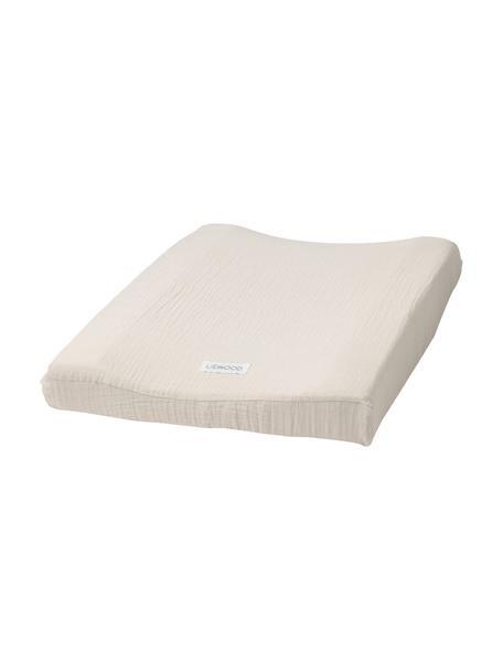 Colchón cambiador tapizado Cliff, 100%algodón orgánico, Beige, An 50 x L 65 cm