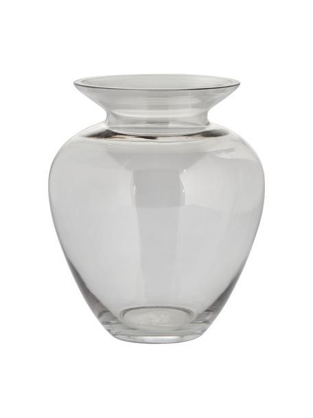 Jarrón de vidrio sopaldo artesanalmente Milia, Vidrio, Transparente, Ø 18 cm