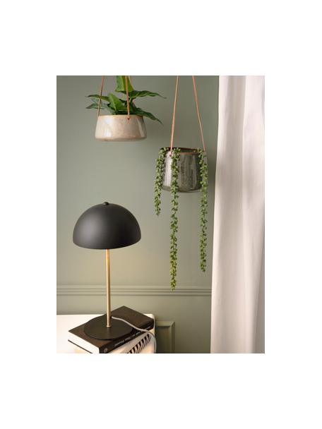 Hangende plantenpot Unique van keramiek, Keramiek, Groentinten, Ø 17 x H 13 cm