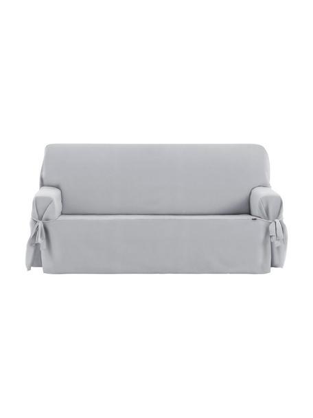 Pokrowiec na sofę Levante, 65% bawełna, 35% poliester, Szary, S 200 x W 110 cm