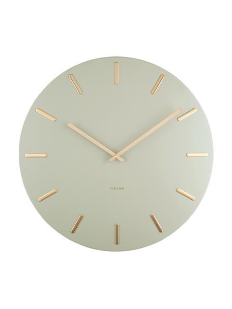 Zegar ścienny Charm, Metal powlekany, Beżowy, Ø 45 cm