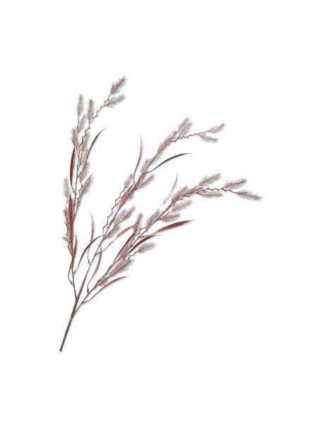 Kunstzweig, Kupferfarben, Kunststoff, Metalldraht, Kupferfarben, L 81 cm