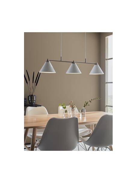 Duża lampa wisząca Klint, Biały, odcienie srebrnego, S 99 x W 21 cm