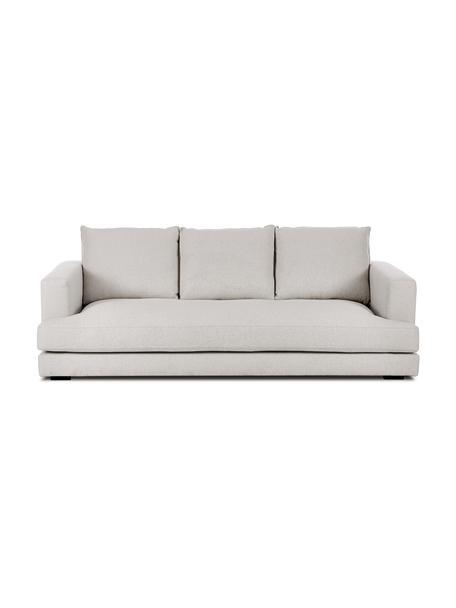 Sofa Tribeca (3-Sitzer) in Beigegrau, Bezug: Polyester Der hochwertige, Gestell: Massives Kiefernholz, Webstoff Beigegrau, B 228 x T 104 cm