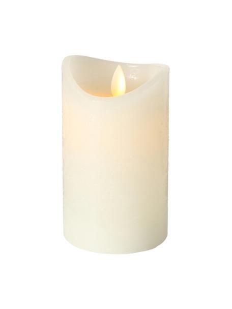 LED-kaars Bino, Crèmekleurig, Ø 8 x H 12 cm