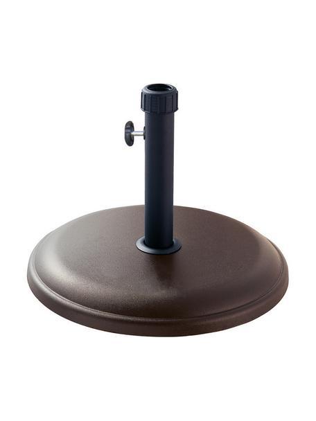 Base de sombrilla de hormigón Estelle, Gris cemento, Verde, An 51 x Al 35 cm