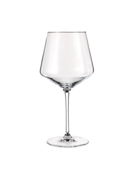 Bauchige Rotweingläser Burgunder Puccini, 6 Stück, Teqton®-Glas, Transparent, Ø 11 x H 23 cm