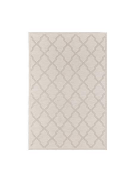 In- en outdoor vloerkleed Heaven in geknoopte macramé-look, crèmekleurig, Crèmekleurig, B 80 x L 150 cm (maat XS)