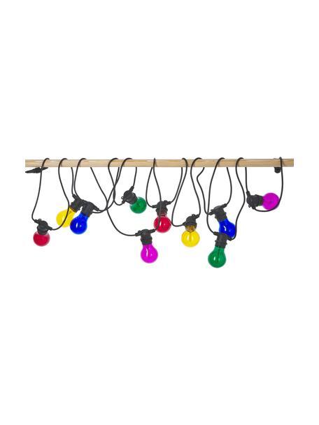 Guirnalda de luces Colors, 840cm, 10 luces, Casquillo: plástico, Cable: plástico, Multicolor, L 840 cm