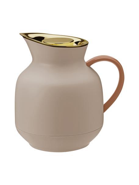 Thermoskan Amphora in roze mat/goudkleurig, Pot: kunststof, Roze, 1 L