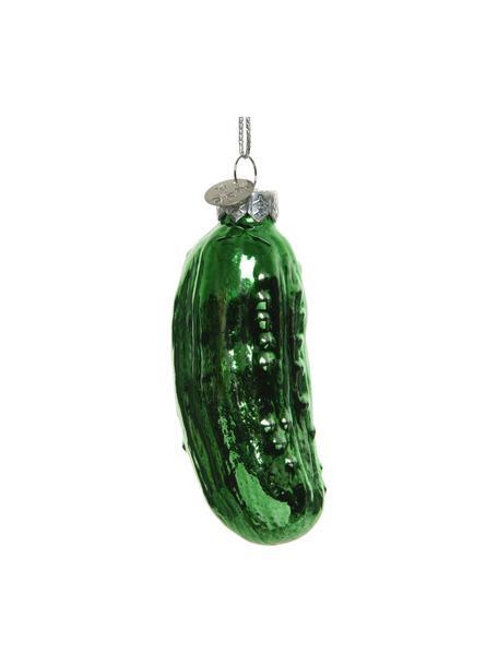 Ozdoba choinkowa Gurke, 2 szt., Zielony, Ø 3 x W 9 cm