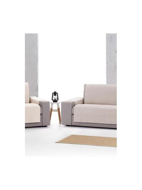 Narzuta na sofę Levante, 65% bawełna, 35% poliester, Szarozielony, S 150 x D 220 cm