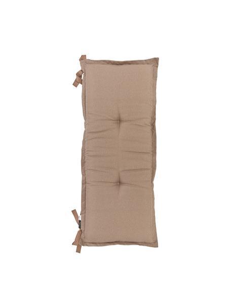 Poduszka na ławkę Panama, Tapicerka: 50% bawełna, 45% polieste, Taupe, S 48 x D 120 cm
