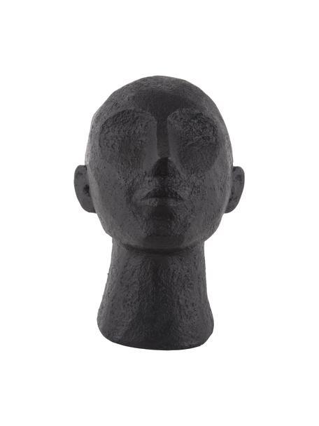Figura decorativa Art Up, Plástico, Negro, An 16 x Al 23 cm