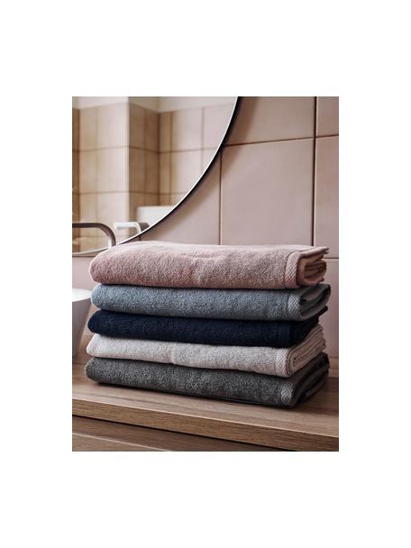 Eenkleurige handdoekenset Comfort, 3-delig, Lichtgrijs, Set met verschillende formaten