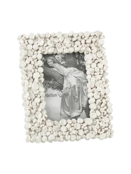Portafoto da tavolo Irregular, Cornice: materiale sintetico, Bianco, 10 x 15 cm