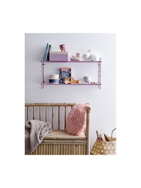 Półka ścienna Kimi, Blady różowy, S 65 x W 35 cm