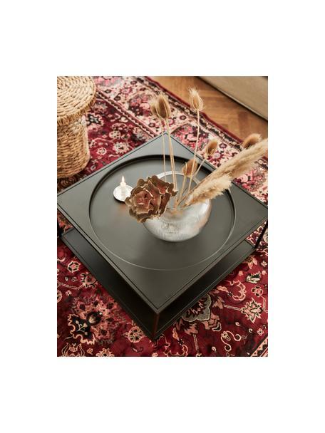 Vloerkleed Bid met bloemmotief in oosterse stijl, Bovenzijde: 38% viscose, 26% katoen, , Onderzijde: synthetische rubbercoatin, Vloerkleed: rood- en beigetinten. Franjes: beige, B 170 x L 240 cm (maat M)