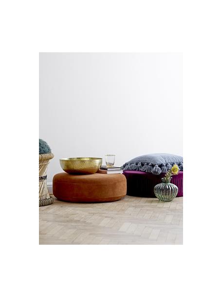 Bol Zana, Hierro, pintado y martillado, Dorado, Ø 35 x Al 13 cm