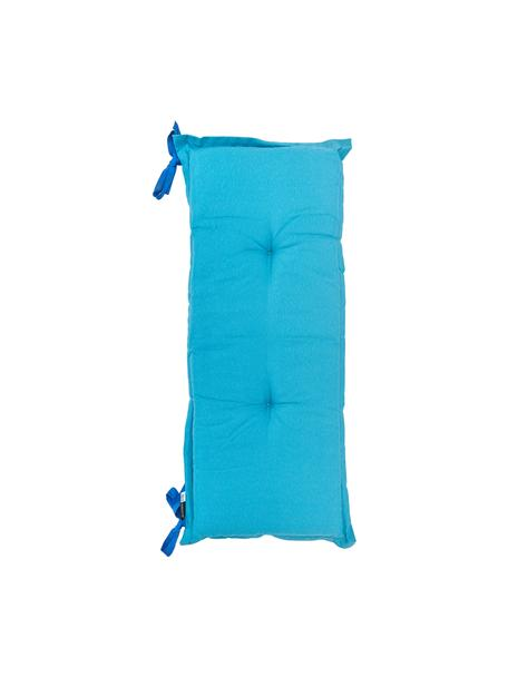 Poduszka na ławkę Panama, Tapicerka: 50% bawełna, 45% polieste, Turkusowy, S 48 x D 150 cm