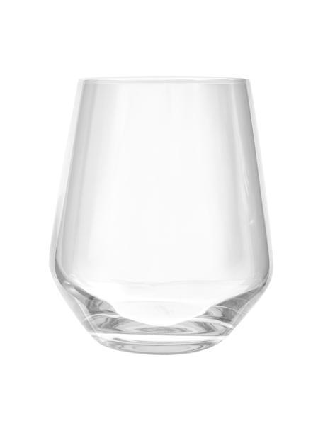 Szklanka do wody ze szkła kryształowego Revolution, 6 szt., Szkło kryształowe, Transparentny, Ø 9 x W 11 cm