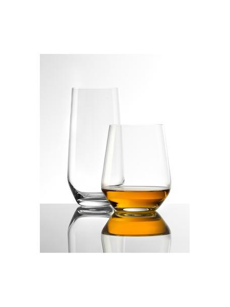 Bolvormige kristallen glazen Revolution, 6 stuks, Kristalglas, Transparant, Ø 9 x H 11 cm