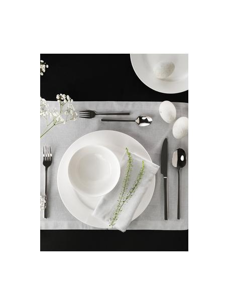 Talerz duży z porcelany Delight Classic, 2 szt., Porcelana, Biały, Ø 27 cm