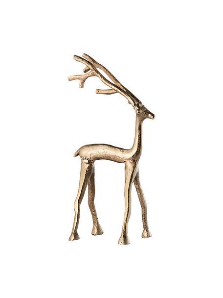 Oggetto decorativo fatto a mano Marely, Alluminio, Dorato, Larg. 10 x Alt. 27 cm