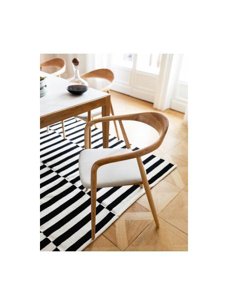 Ręcznie tkany dywan kilim Donna, Czarny, S 120 x D 180 cm (Rozmiar S)