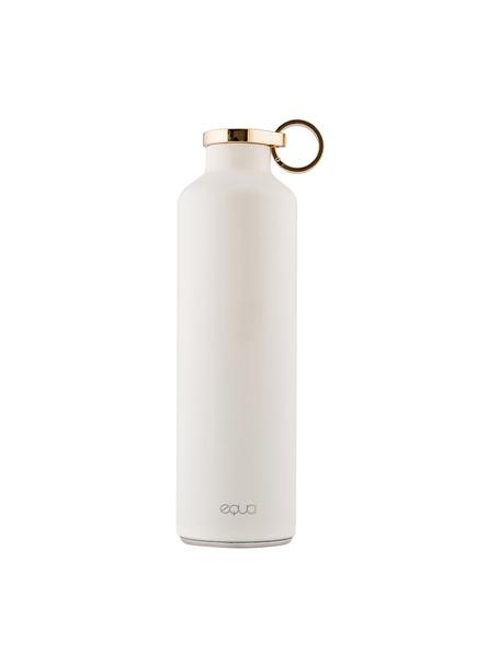 Isolierflasche Classy Thermo Snow White, Rostfreier Stahl, beschichtet, Weiß, Goldfarben, Ø 8 x H 26 cm