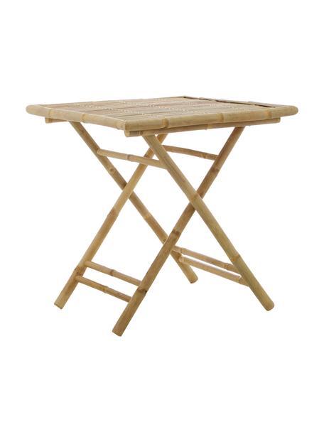 Tavolo da giardino in bambù Tropical, Bambù, Marrone, Larg. 70 x Prof. 70 cm