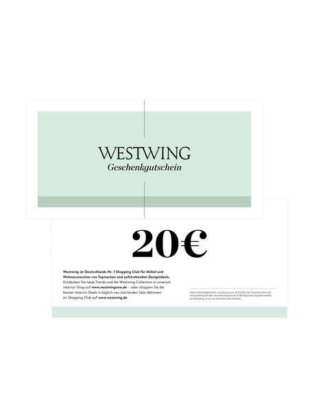 Gutscheinkarte, Gutschein auf edlem Papier, in hochwertigem Kuvert, Weiß, 20