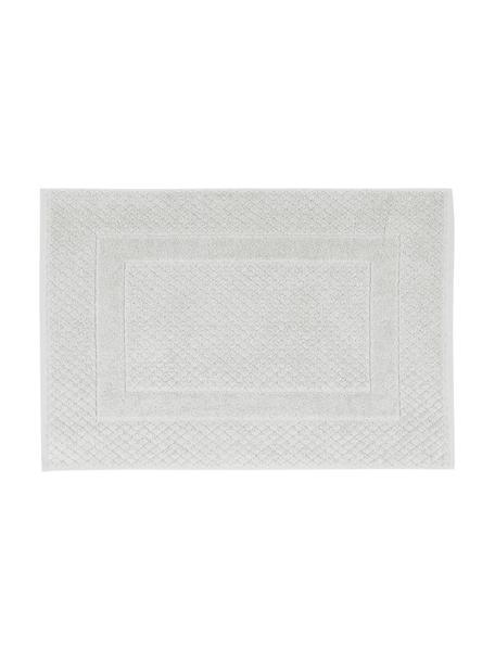 Badmat Katharina in lichtgrijs, 100% katoen, zware kwaliteit, 900 g/m², Zilvergrijs, 50 x 70 cm