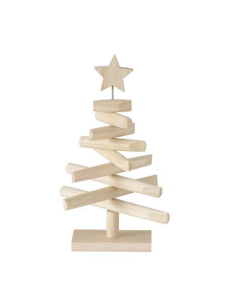 Deko-Baum Jobo H 37 cm, Holz, Beige, 26 x 37 cm