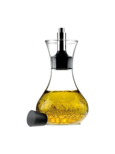 Shaker do dressingów Eva Solo, Szkło, stal szlachetna , tworzywo sztuczne, Transparentny, czarny, stal szlachetna, 250 ml