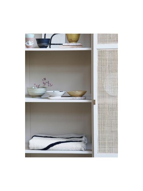 Set 4 ciotole stile giapponese fatte a mano Yunomi, Gres, Multicolore, Ø 17 x Alt. 5 cm
