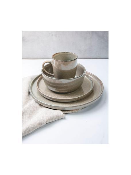 Schälchen Ceylon, 2 Stück, Steinzeug, Bräunlich, Grüntöne, Ø 15 cm