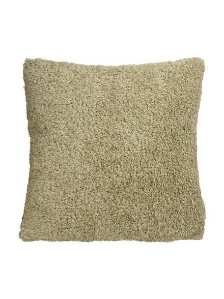 Puszysta poduszka z wypełnieniem Teddy, Beżowy, S 45 x D 45 cm