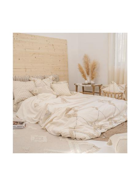 Funda de cojín Lienzo, 100%algodón, Blanco crudo, An 45 x L 45 cm