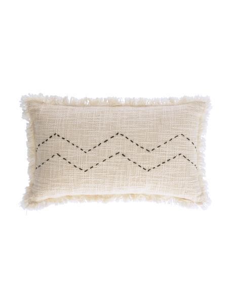 Poszewka na poduszkę Seila, 100% bawełna, Beżowy, S 30 x D 50 cm