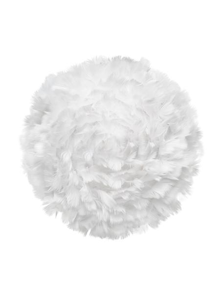 Kinkiet/lampa sufitowa z piór Eos Up, Biały, Ø 30 x G 14 cm